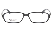 GLAM N9650 TR91 Female Full Rim Square Optical Glasses