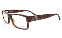 VERSACE VE3141 Stainless Steel/ZYL Full Rim Unisex Optical