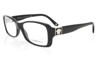 VERSACE VE3137 Stainless Steel/ZYL Full Rim Unisex Optical