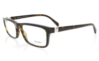 PRADA PR06N Stainless Steel/ZYL Full Rim Male Optical