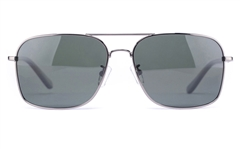 Vista Sport P1333 Stainless Steel Mens Square Full Rim Sunglasses
